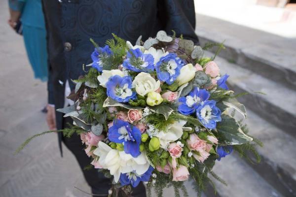 realizzazione bouquet sposa Perugia