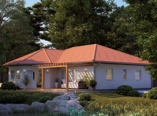 casa tetto spiovento