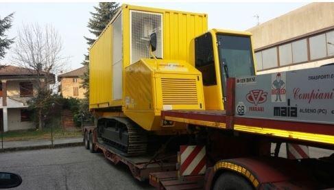 trasporto container Piacenza