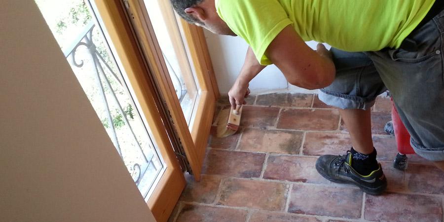 pulizia pietra e pavimenti