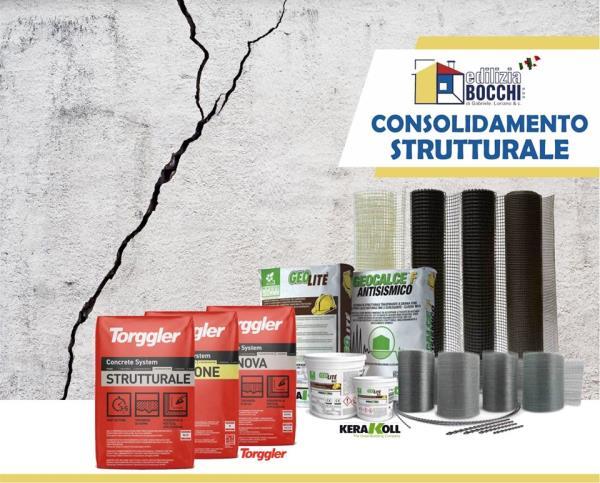 materiali per consolidamento antisismico Copparo Ferrara