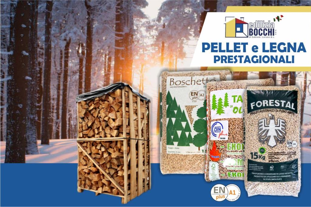 vendita legna e pellet Copparo Ferrara