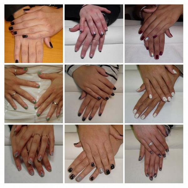 rivestimento unghie