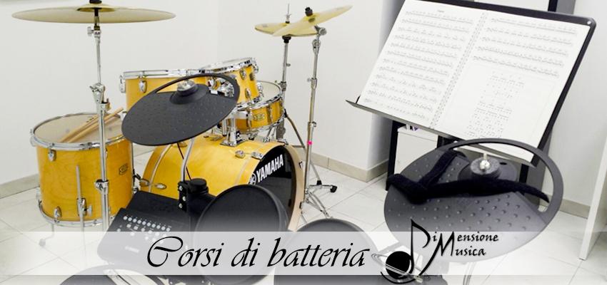 corsi di batteria dimensione musica roma