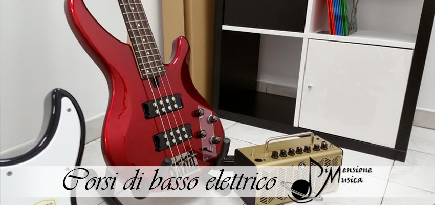 corsi di basso dimensione musica roma