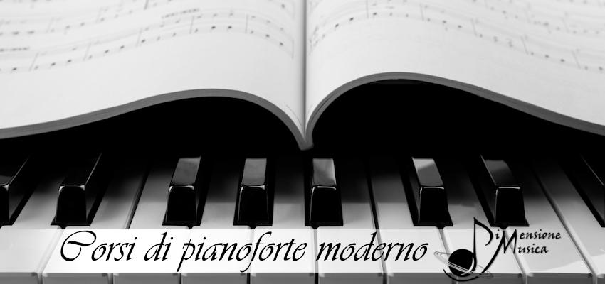 scuola di pianoforte moderno dimensione musica Roma