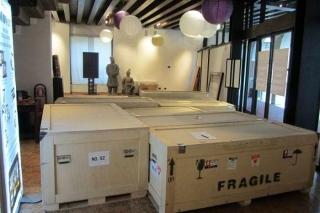 trasporto opere d'arte cooperativa facchinaggio roma castro pretorio