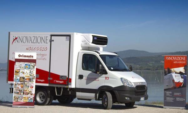 pubblicità su veicoli commerciali Perugia