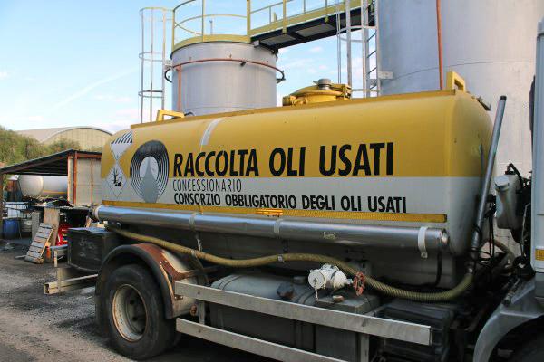 concessionario raccolta oli usati Cagliari