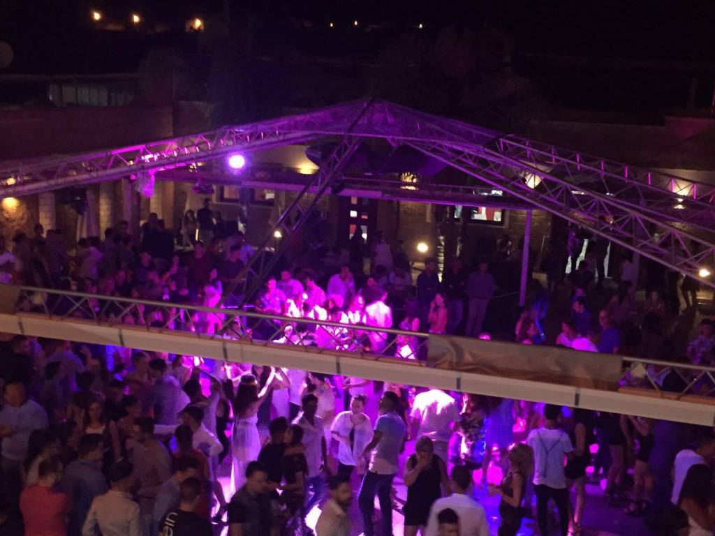 discoteca all'aperto