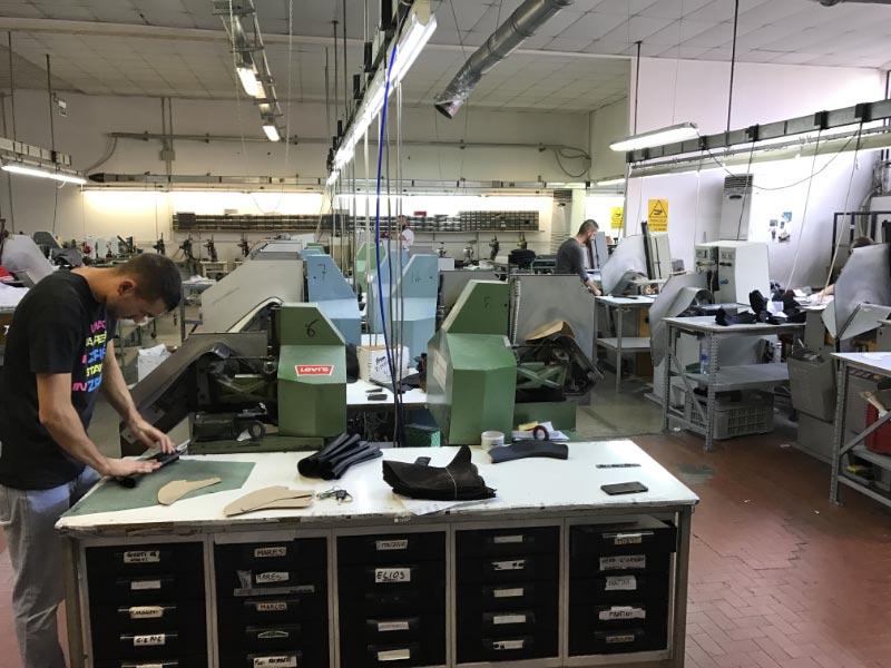 Lavorazioni per il settore calzaturiero