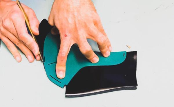 Lavorazioni di calzature