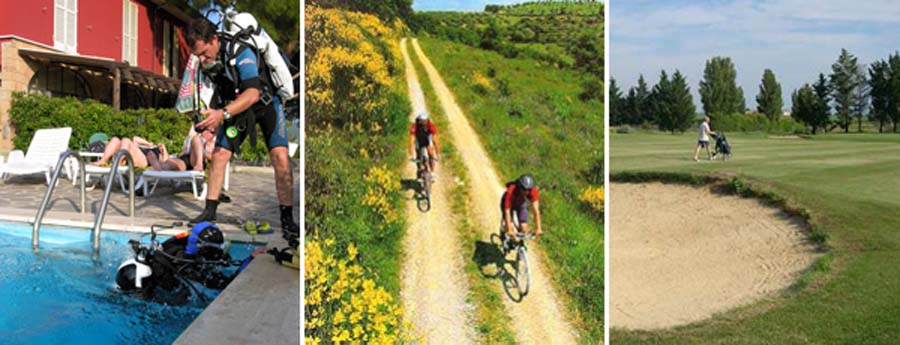 mountain bike Lago Trasimeno