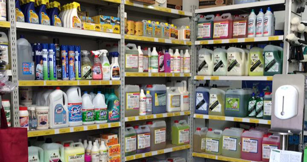 prodotti per detergenze