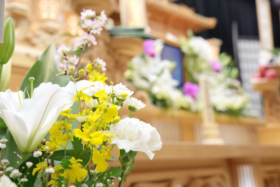 composizioni floreali per funerali macerata