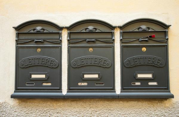 volantini in cassetta postale