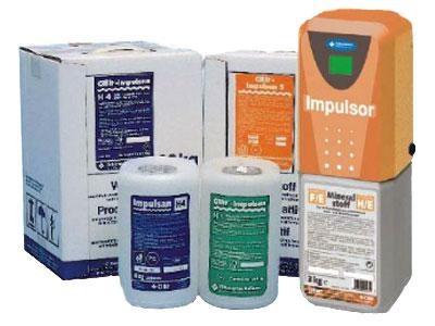 Prodotti chimici per la depurazione dell'acqua